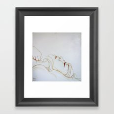 I know it's over Framed Art Print