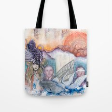 Sunset Gala Tote Bag