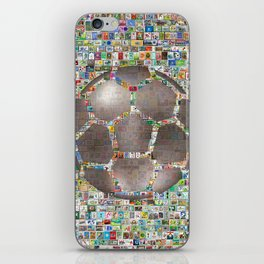 Soccer Ball on Philately iPhone Skin