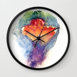 Pepper Kester's Vulva Art Wall Clock