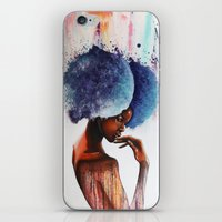 waterfall iPhone & iPod Skins featuring Waterfall  by Sebastian Wandl
