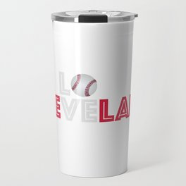 Cleveland T-shirt for men | Ohio baseball fans tee Travel Mug