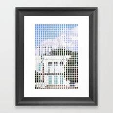 windows- vacancy zine Framed Art Print