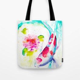 Koi Love Tote Bag