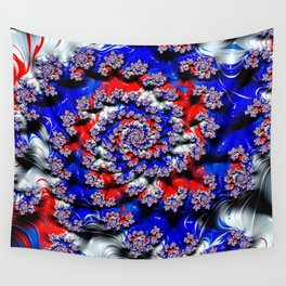 Patriotic Spinners Wall Tapestry