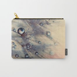 dandelion baby pink and blue Carry-All Pouch