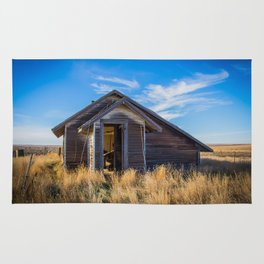 Chicken House, Backroads Farmstead, Valley County, MT Rug