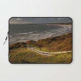 Rhossili bay south Wales Laptop Sleeve