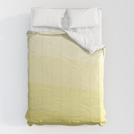 Six shades of yellow. Comforters