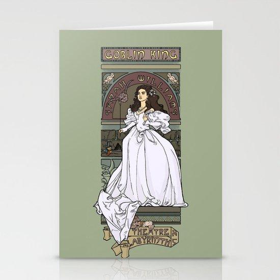 Theatre de la Labyrinth Stationery Cards
