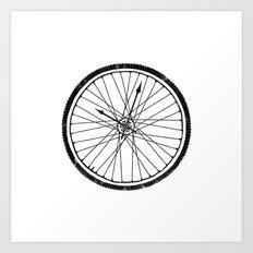 Bike Time Art Print