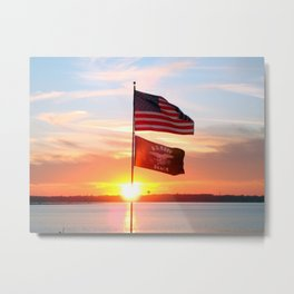 Day is Done.. Metal Print