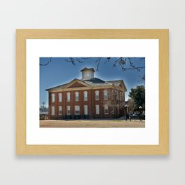 Cherokee Nation - Capitol in Tahlequah, No. 3 of 3 Framed Art Print