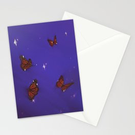 Sparkly Butterflies Stationery Cards