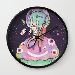 Space Taco Wall Clock