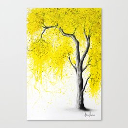 Fall Tree Trios Canvas Print