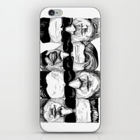 reservoir dogs iPhone & iPod Skins featuring The Reservoir Dogs  by Shalimar Luis
