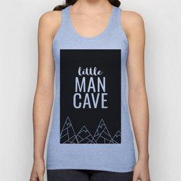 Little Man Cave Unisex Tank Top