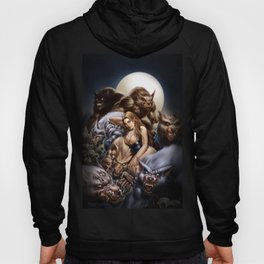 "Ravenous ""QUEEN of WOLVES""  Hoody"