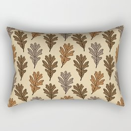 The Oak Leaves Rectangular Pillow