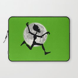 Friendly Zombie On The Go - Run Laptop Sleeve