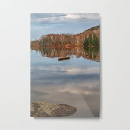 Ritchie River Reflections Metal Print