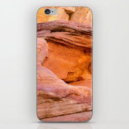Colorful Sandstone, Valley of Fire State Park iPhone Skin