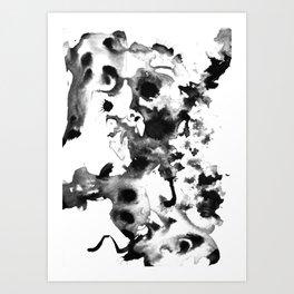 Stain Art Print