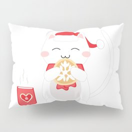 Happy Cat Pillow Sham