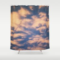 shadow Shower Curtains featuring shadow  by Alexandra Bauer