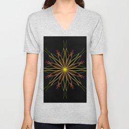 Kaleidoscopic Light Unisex V-Neck