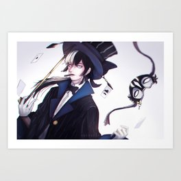 Dinias l The Illusionist Art Print