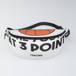 Basketball player throwing clothes Fanny Pack
