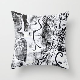 As Yet Unknown Throw Pillow