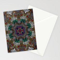Hallucination Mandala 4 Stationery Cards