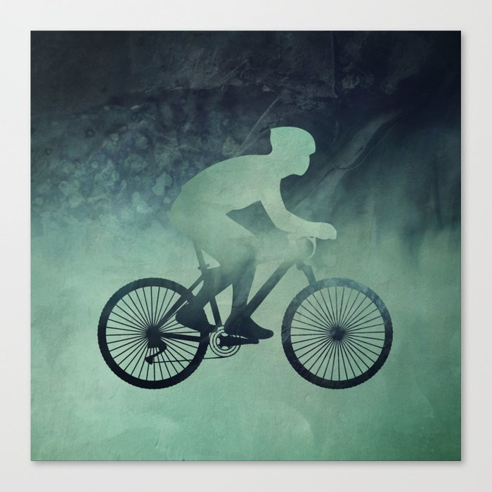 Bicycle lover Canvas Print