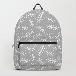 Positive Vibes on Gray Backpack