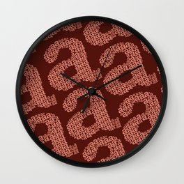 """type """"a"""" Wall Clock"""