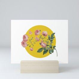 Sunny Roses Mini Art Print
