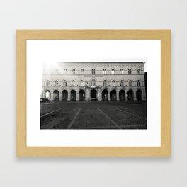 Dura Lex Sed Lex Framed Art Print