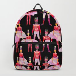 Nutcracker Ballet - Black Backpack