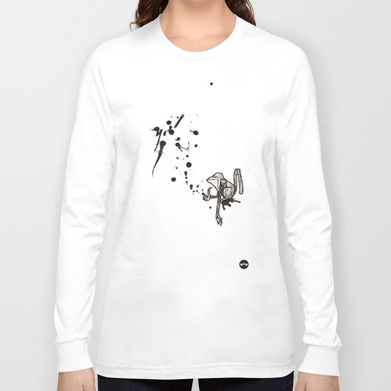 Pensive Primate. Long Sleeve T-shirt