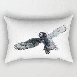 Soar the puffin Rectangular Pillow