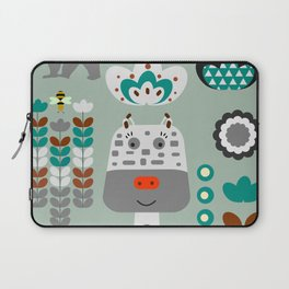 Happy giraffe Laptop Sleeve