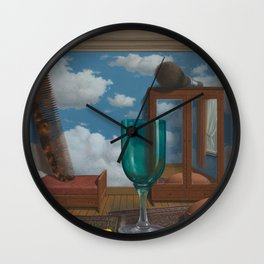 Rene Magritte Personal Values Wall Clock