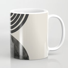Woodblock Print, Modern Art Coffee Mug