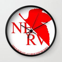 Anime Art - NERV Wall Clock