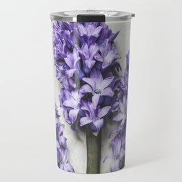 Three Lilac Hyacinth Travel Mug