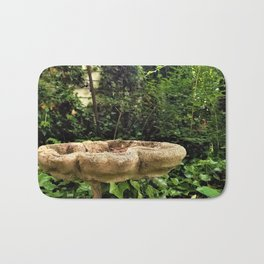 Backyard Birdbath Bath Mat