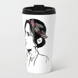 Josephine Flower Crown Travel Mug